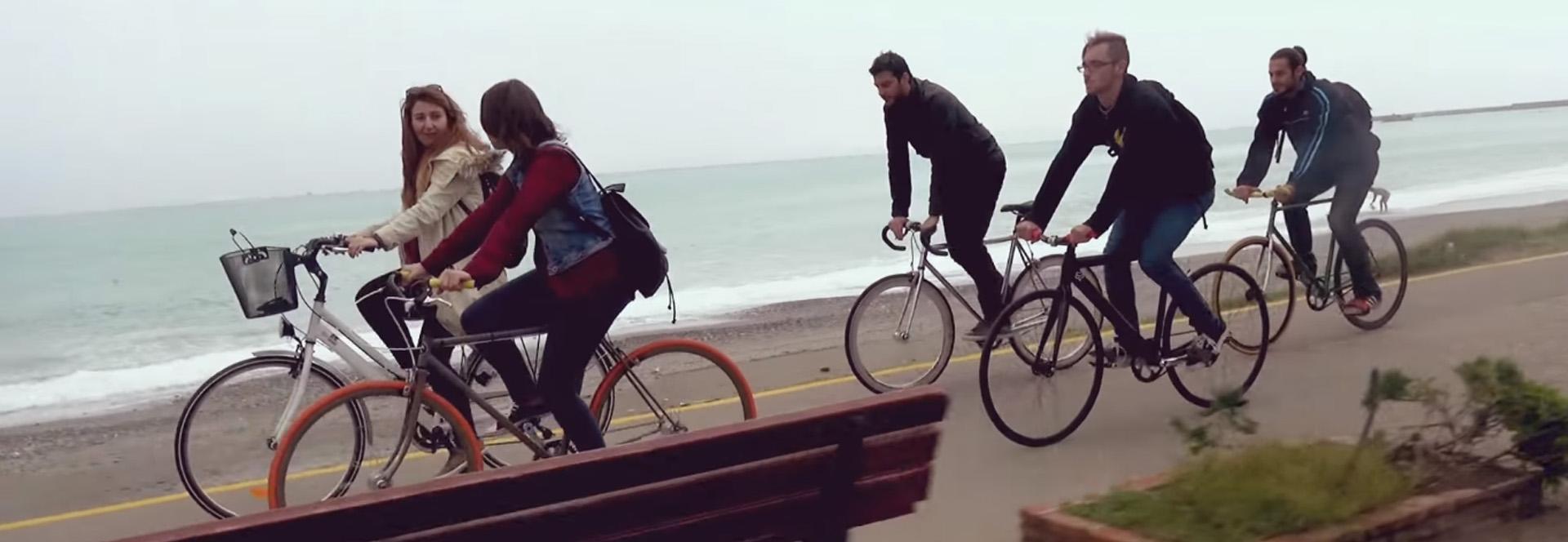 Spinos kalamata bicycle city video