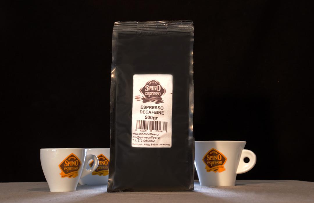 spino espresso decafeine