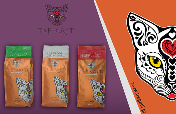 Spinos Coffee - Καλαμάτα - Espresso - Tre gatti